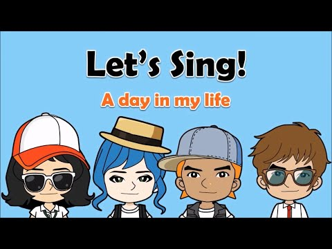 09 'A day in my life' Song (Daily Routines)  English on Tour