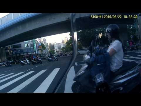高雄實際上路視訊 不要再怪罪機車騎士 斑馬線跑法汽車 駕駛習慣差勁 導致騎乘困難.