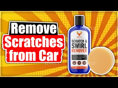 Remove Scratches On Your Car the Easy Way