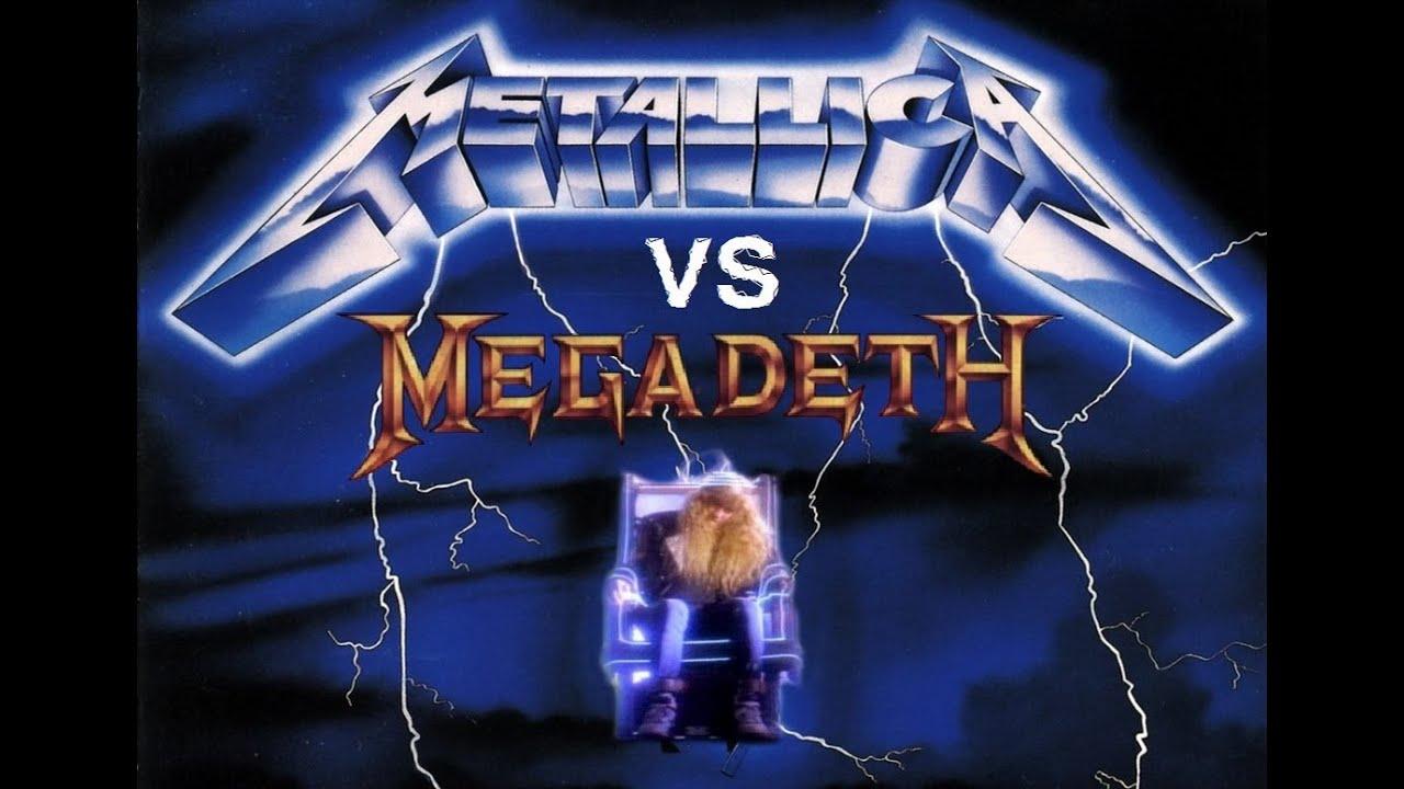 megadeth better than metallica