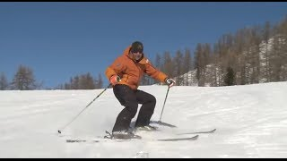 Урок 17 - Повороты на горных лыжах используя стопы(Англоязычный оригинал видео взят с этого канала https://www.youtube.com/user/elatemedia ..., 2014-02-22T19:57:07.000Z)