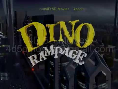 """Dino Rampage """"4D Movie"""""""