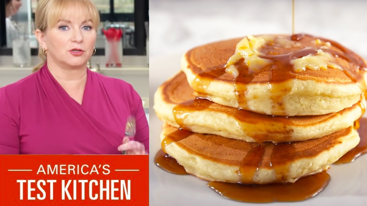 How To Make The Easiest Pancakes Ever Youtube