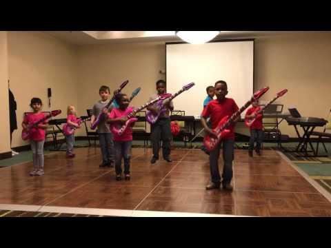 Elite Scholars STEAM Academy Pre-K, K and 1st Graders Tap Performance