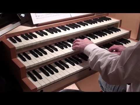 Bach - BWV 147 Jesu joy of man's desiring (Jesus bleibet meine Freude, organ)