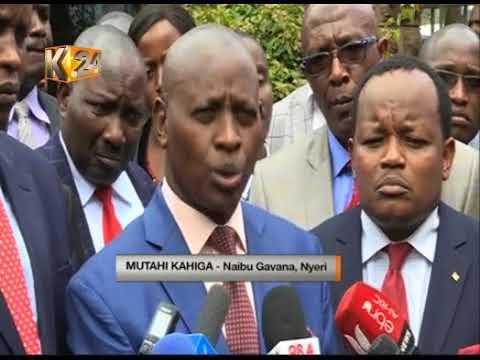 Rais Uhuru Kenyatta, Ruto na Rais mstaafu Kibaki wamwomboleza