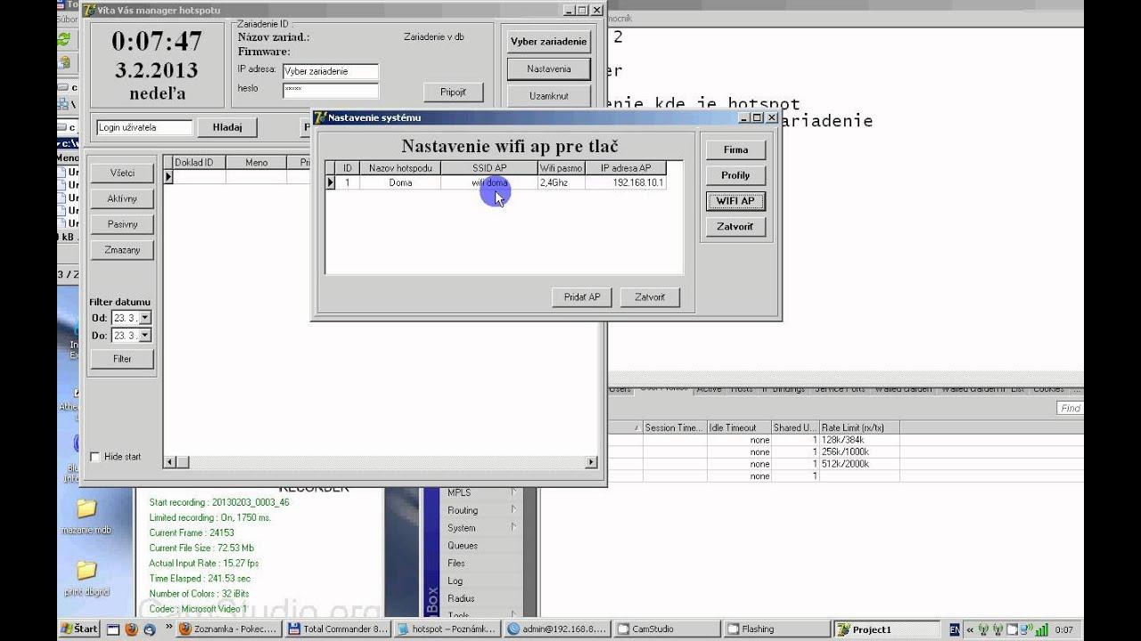 Mikrotik hotspot user manager 2 API
