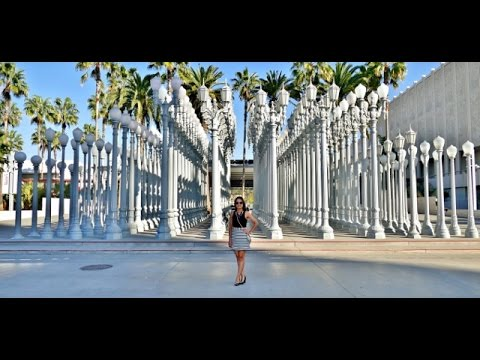 Delightful Urban Lights In LACMA.