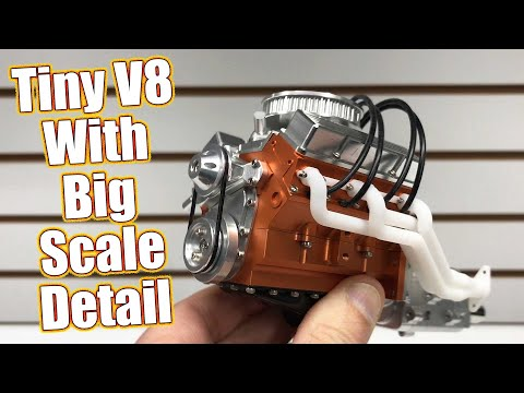 Oh So Scale! Loading Up The RC4WD V8 Engine With Detail Options | RC Driver