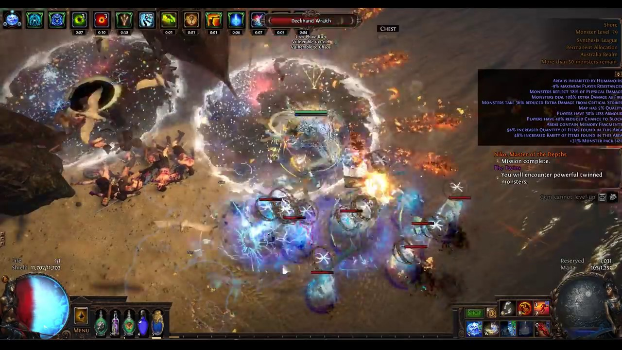 Path of Exile - A Sulphite Optimised Mapping Strategy - Earn 12-20k  Sulphite per hour
