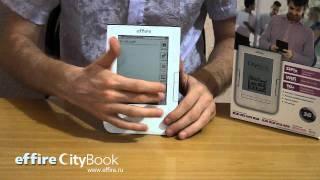 видео обзор электронной книги effire CityBook(effire CityBook - это 6-ти дюймовое электронное устройство для чтения. В данном ролике можно увидеть его основные..., 2011-08-09T07:37:56.000Z)