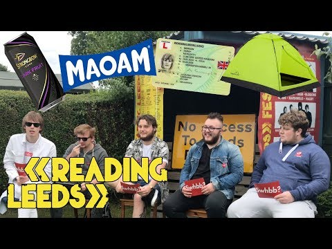READING AND LEEDS FESTIVAL - Q&A / FAQ 2017