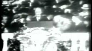 President Franklin D. Roosevelt First Inaugural Address