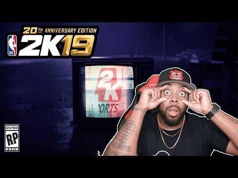 NBA 2K19 LEBRON JAMES TRAILER REACTION! Is 2K19 Worth Pre-Order? 20th Anniversary Edition Breakdown