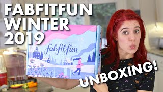 FabFitFun Winter 2019 Unboxing | ULTIMATE Lifestyle Subscription Box!