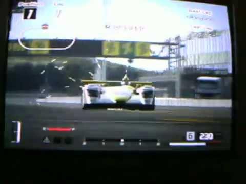 Gran Turismo 4 Audi R8 LMP race car mega sparks!