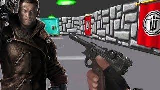 Wolfenstein: The New Order - Wolfenstein-Easter-Egg - 90er-Jahre-Level
