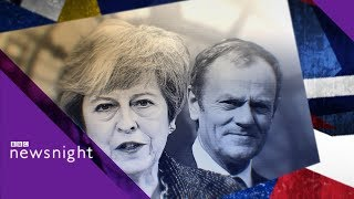 Brexit: 'EU could decide no-deal is the right solution' - BBC Newsnight