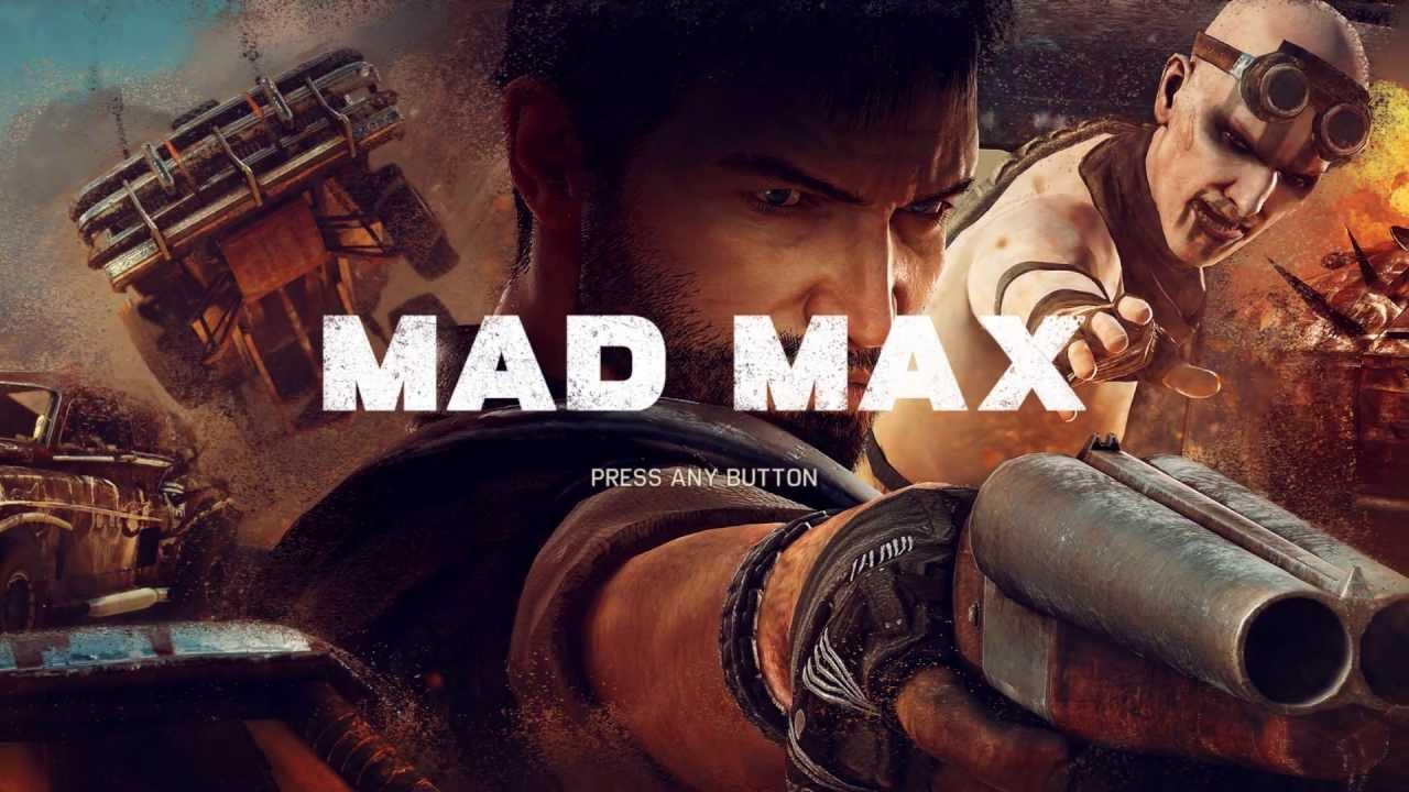 Mad Max Game Intro