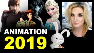 Animated Movies 2019 - Frozen 2, Toy Story 4, The Secret Life of Pets 2
