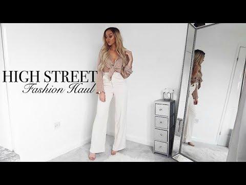HIGH STREET FASHION HAUL // Topshop & Miss Selfridge