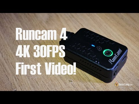The First Runcam 4 Video on Youtube (4K, RAW, FPV, Mini Quad)