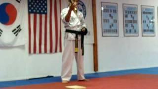 TKD Master-Samurai Sword Trick