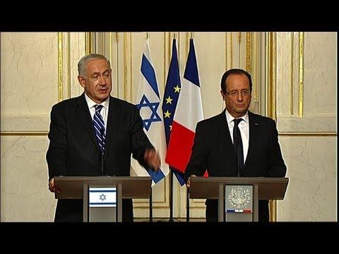 Hollande veut des gestes de l'Iran, salué par Netanyahu