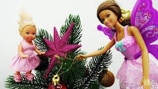 Штеффи и волшебство перед Новым Годом. Игры Барби