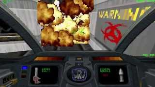 DESCENT 1 1994 gameplay [Full HD] [60FPS]