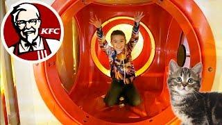 VLOG - Fun & Chats au KFC ! Aire de Jeux Tasty World :)