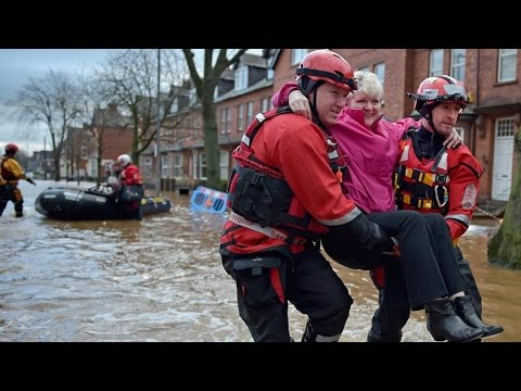 George Monbiot Interview on why flooding was so bad in Cumbria