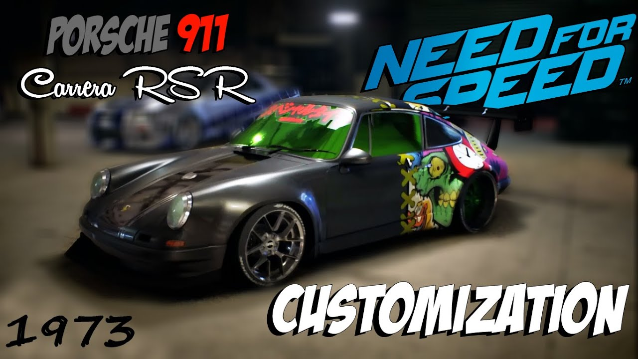 Need for speed 2015 porsche 911 carrera rsr 28 1973 need for speed 2015 porsche 911 carrera rsr 28 1973 customization youtube vanachro Images
