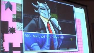 Fanime 2010 Part 84 - Banzai Arcade: VS. Flow Chart Ken & Ryu