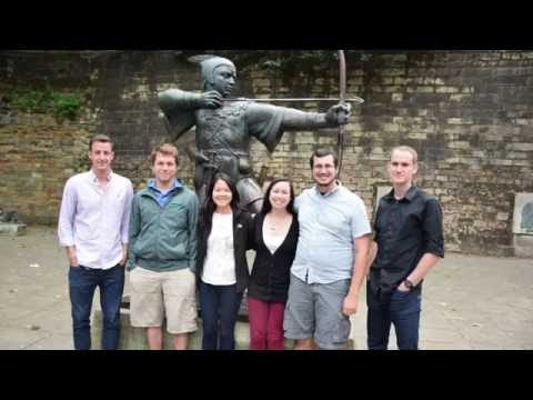 Virginia Tech students talk about Nottingham and the IRES programme
