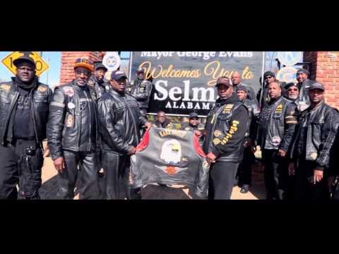Selma Ride - Rare Breed MC Atlanta - King Center - Edmund Pettus Bridge - Alabama Capitol