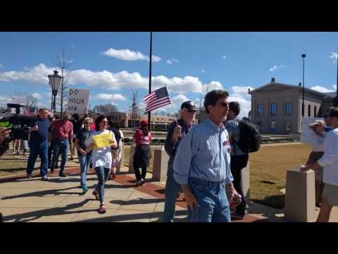 Richard Shelby Town Hall Protest