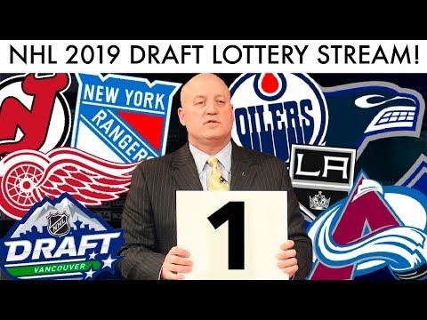 NHL 2019 Draft Lottery LIVE STREAM! (Jack Hughes/Kaapo Kakko Sweepstakes 1-15 Reaction)