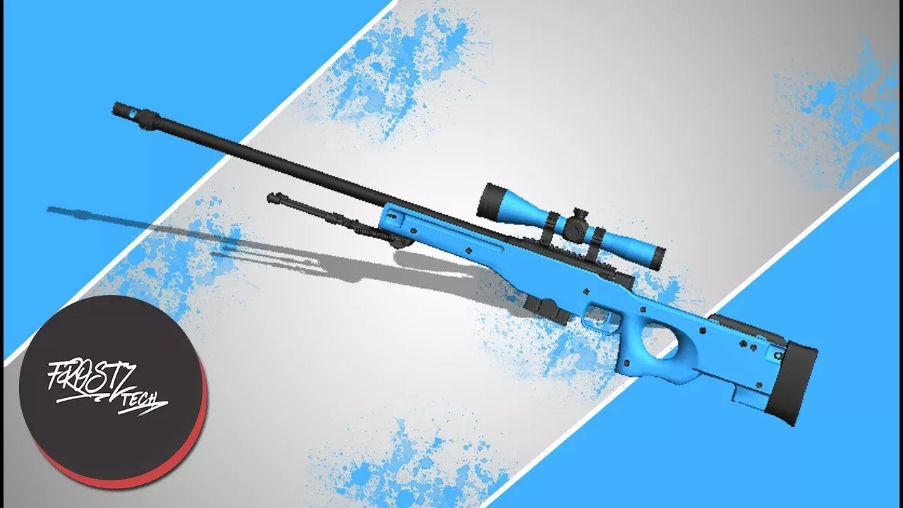 Create Your Own AWP Skin! (CS:GO)