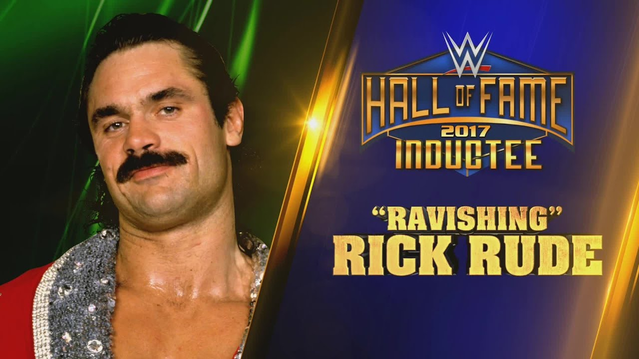 Image result for rick rude wwe hall of fame