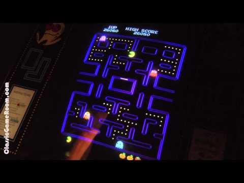 Classic Game Room - PAC-MAN Arcade Game Review