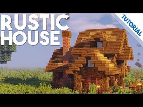 Rustic House Minecraft 1 14 Tutorial