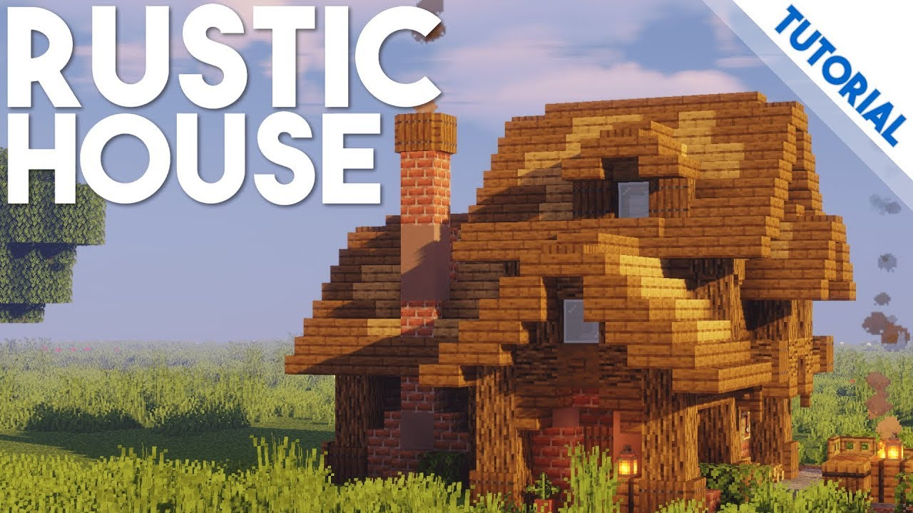 How to Build a Rustic House (Minecraft 11.111 Tutorial)