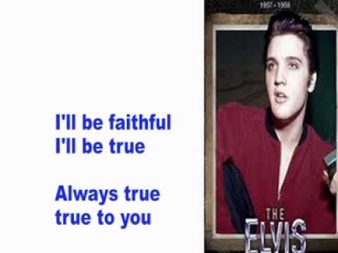 Elvis Presley- Loving You- Cover With Lyrics (Pattarasila59)