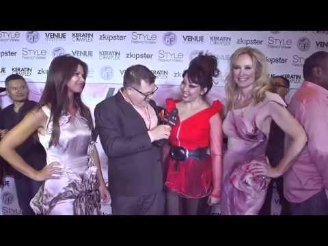 Quynh Paris, Danielle Vasinova, and Andrea Anderson at Style FW LA