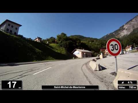 Indoor Cycling Training: Col du Télégraphe (Alpen / Frankreich) - in full length!!! (Part 1/2)