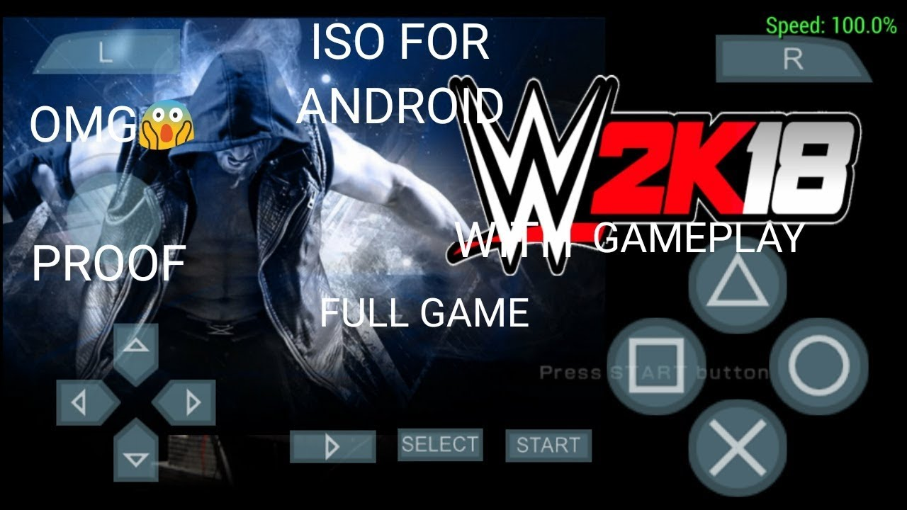 HOW TO DOWNLOAD WWE 2K18 IN ANDROID PSP ISO FULL GAME WITH PROOF