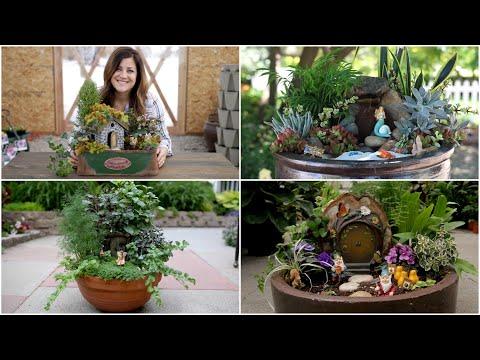 4 Fairy Garden Ideas 🌿