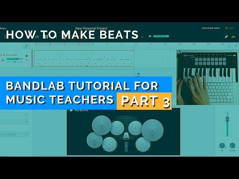 How to Make Beats Using Free Software [Bandlab Tutorial - Part 3] thumbnail