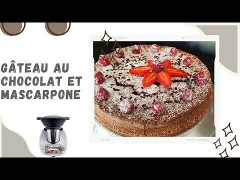 thermomix-tm6-gâteau-au-chocolat-et-mascarpone